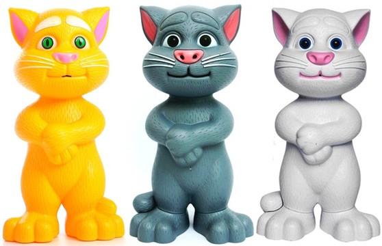 Mèo Talking Tom Biết Nói, Biết Hát Đồ Chơi Sáng Tạo Thông Minh Cho Bé