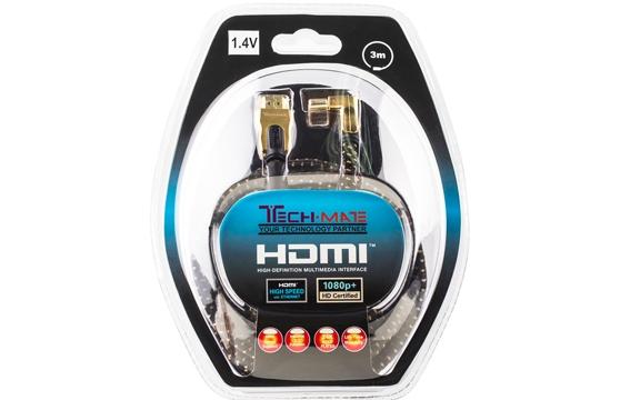 Cáp Hdmi Techmate 3D Hd-1402 1.4V