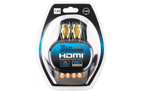 Cáp Hdmi Techmate 3D Hd-1401 1.4V