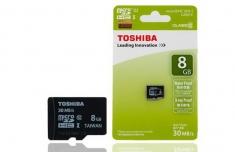 Thẻ Nhớ Micro Toshiba 8G Class 10 Chính Hãng