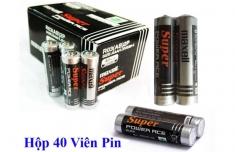 Bộ 8 Viên Pin Tiểu AAA Maxell Super 1.5V Cao Cấp (Đen)