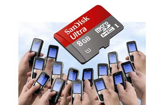 Thẻ Nhớ Microsd Sandisk 8G Class 10 Chính Hãng