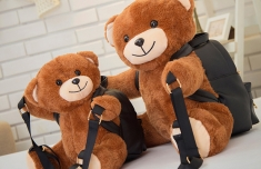Balo Gấu Moschino Size Lớn Thời Trang