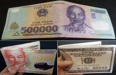 Bóp Tiền Hình 200000Đ, 500000Đ Và 100 Usd Loại Tốt