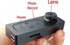 Camera Nút Áo Nguỵ Trang Siêu Nhỏ