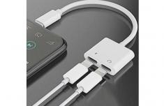 Cáp Chuyển Iphone Cổng Lightning Ra 2 Đầu Lightning