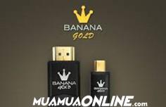 Cáp Micro Hdmi - Hdmi Banana Gold 1.8M Loại Tốt