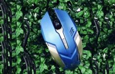 Chuột Dây Game Thủ Logitech V800 Đèn Led 7 Màu