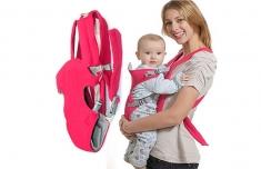 Đai Địu Em Bé 4 Tư Thế Baby Carrier Tiện Dụng