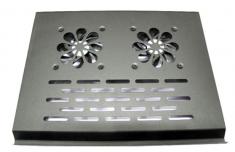 Đế Tản Nhiệt Laptop X300 2 Fan Nhôm Siêu Bền