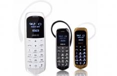 Điện Thoại Mini Kiêm Tai Nghe Bluetooth Long Cz J18 Chính Hãng
