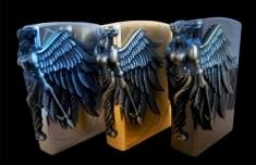 Hộp Quẹt Bật Lửa Hình Cánh Thiên Thần Amazon