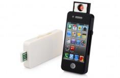 Hộp Quẹt Bật Lửa Hình Iphone Dùng Điện Cao Cấp