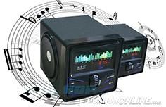 Loa Nghe Nhạc Klivien Kl-A2 Vỏ Gỗ + Pin Rời Có Remote Đẳng Cấp