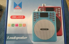 Loa Trợ Giảng Usb Thẻ Nhớ Hanlin Hl-132