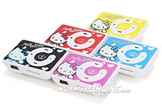 Máy Nghe Nhạc Mp3 Hello Kitty Có Khe Cắm Thẻ Nhớ