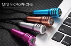 Micro Karaoke Mini Cho Điện Thoại, Máy Tính Bảng Kiêm Tai Nghe