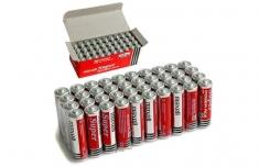 Bộ 8 Viên Pin Tiểu AA Maxell Super 1.5V Cao Cấp (Đỏ)