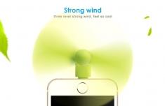 Quạt 2 Cánh Mini Cắm Nguồn Iphone