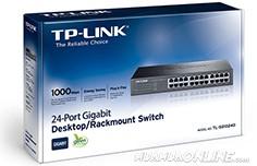 Switch Tp-Link 24 Port Gigabit Tl-Sg1024D 1000Mbps Chính Hãng