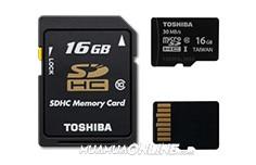 Thẻ Nhớ Sdhc Toshiba 16Gb Class 10 Chính Hãng