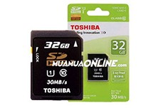 Thẻ Nhớ Sdhc Toshiba 32Gb Class 10 Chính Hãng