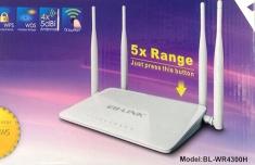 Thiết Bị Phát Sóng Wifi Lb-Link Bl-Wr4300 4 Anten Xuyên Tường Chính Hãng