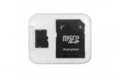 Adapter Thẻ Nhớ Và Hộp Nhựa, Chuyển Đổi Thẻ Microsd Thành Sd