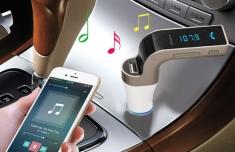 Usb Bluetooth Carc7 5In1 Trên Xe Hơi, Ô Tô Cao Cấp