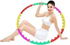 Vòng Lắc Giảm Eo Massage Hoop Bằng Nhựa Tiện Dụng