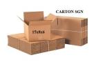 Bộ 10 Thùng Carton 15x8x6 Cm