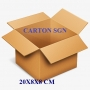 Bộ 10 Thùng Carton 20x8x8 Cm