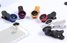 Bộ Ống Lens Chụp Ảnh 3 Trong 1 Cho Điện Thoại Cao Cấp + Tặng Kèm Túi Đựng