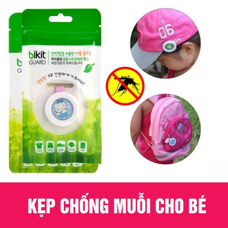 Kẹp Chống Muỗi Bikit Guard Hàn Quốc Cho Bé