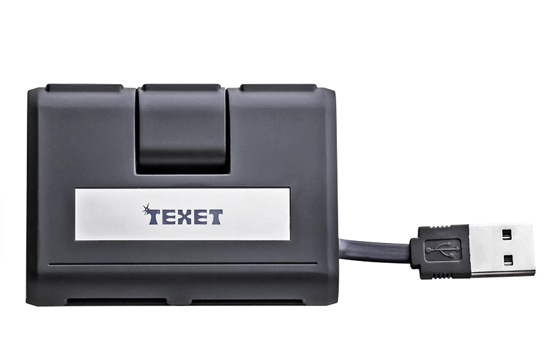Đầu Đọc Thẻ Texet Và Hub Usb Sp-480
