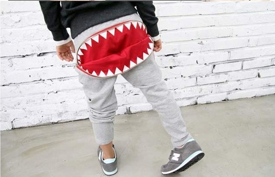 Quần Thun Hình Cá Mập