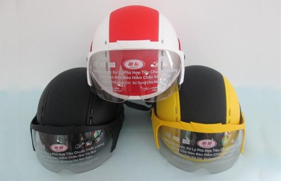 Nón Bảo Hiểm Có Kính Vespa Km-09