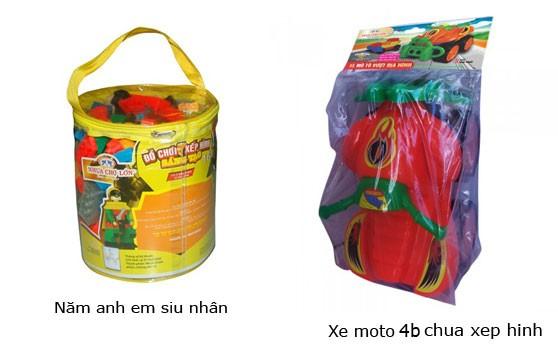 Đồ Chơi Xếp Hình Sáng Tạo Nhựa Chợ Lớn