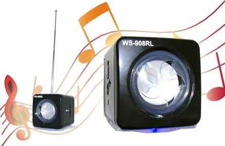 Loa Nghe Nhạc Mini Ws-908Rl