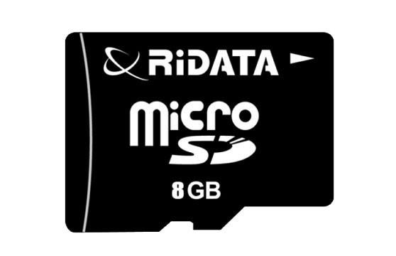 Thẻ Nhớ 8G Microsd Ridata Class 10