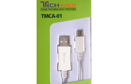 Cáp Sạc Microusb Techmate Tmca-01 (Samsung, Htc, Lg, ...)