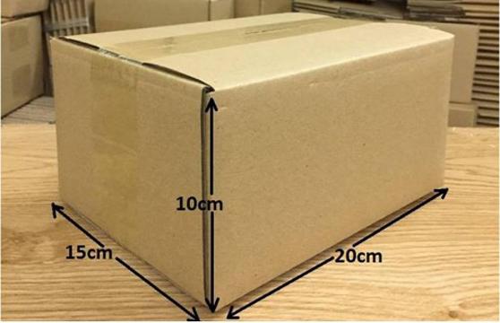 Bộ 10 Thùng Carton 20x15x10 Cm