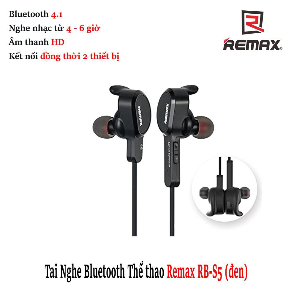 Tai Nghe Bluetooth Remax Rb-S5 Sports