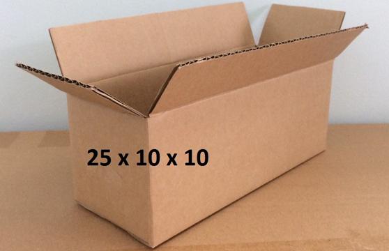 Bộ 10 Thùng Carton 25x10x10 Cm