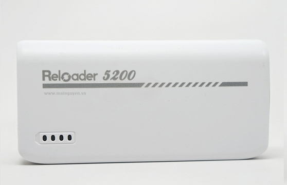 Pin Sạc Dự Phòng Reloader 5200Mah