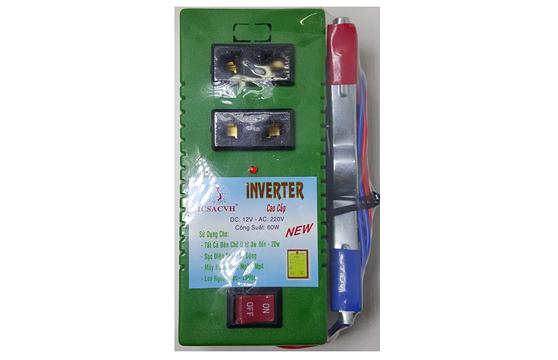 Bộ Đảo Điện Inverter 12V Ra 220V Công Suất 60W
