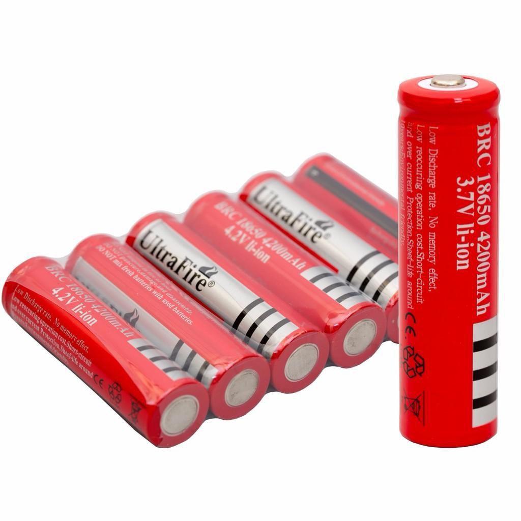 Pin Sạc Ultrafire 18650 4200mah