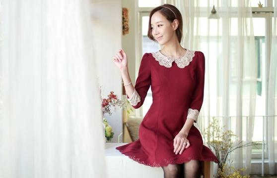 Đầm Xòe Hana Cắt Lazer