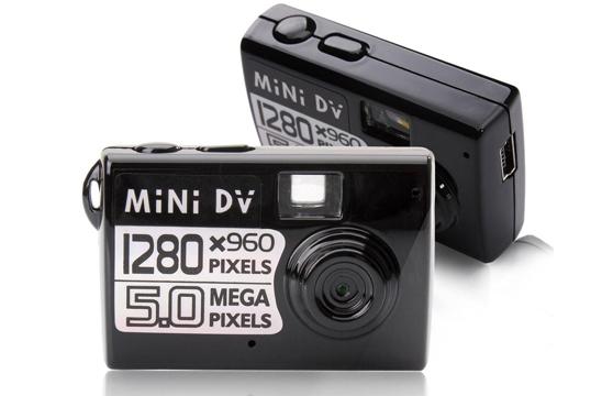 Máy Ảnh Mini Dv Recorder Siêu Nhỏ