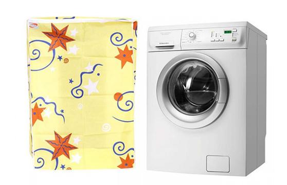 Áo Trùm Máy Giặt Cửa Trước Vải Satin 58X63X85cm Nhiều Hình (B)